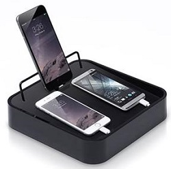 BlueLounge Sanctuary4 Charger (Black) (While They Last!)