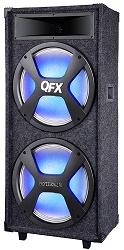 QFX SBX-215 High Powered Pro PA Wireless Bluetooth Speaker