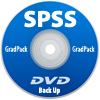 IBM SPSS Statistics Standard Grad Pack 25.0 Backup DVD - <i>What's This?</i>.