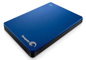 Seagate Backup Plus Slim 1TB Portable USB 3.0 External Hard Drive (Blue)