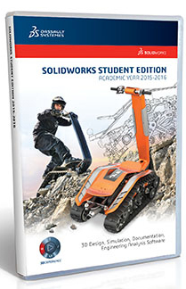 SolidWorks Student Edition 2015-2016 (WIN 8.1, 8.0, 7)