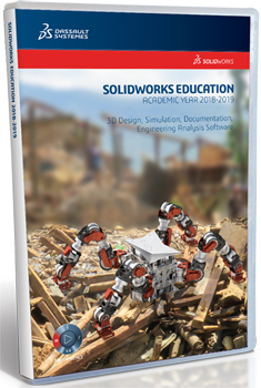 SolidWorks Student Edition 2018-2019 - (Download) LARGE