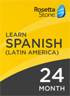 Rosetta Stone Spanish: 24 Month Subscription for Windows/Mac 1-2 Users, Download