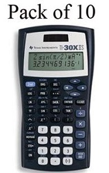 Texas Instruments TI-30X IIS Scientific Calculator Teacher's Kit
