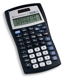 Texas Instruments TI-30X IIS Dual Power Scientific Calculator LARGE