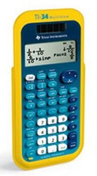 Texas Instruments TI-34 Multi-View EZ Spot Calculator Teacher's Kit LARGE