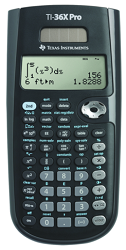 Texas Instruments TI-36X Pro Scientific Calculator LARGE