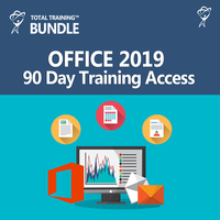Total Training Online for Microsoft Office 2019 - 90 Day Access LARGE
