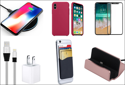 iPhone X Essentials Accessories Pack (FREE SHIPPING
