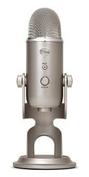 Blue Microphones Yeti USB Microphone (Platinum) LARGE