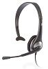 Cyber Acoustics AC-104 Mono Headset with Y-Adapter THUMBNAIL