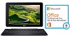 "Acer One 10.1"" Touchscreen Intel Atom X5 64GB 4-in-1 Detachable Tablet PC w/Microsoft Office 2016"