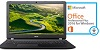 "Acer Aspire 3 A315-51 15.6"" Intel Core i5 6GB RAM Notebook PC with Microsoft Office Pro 2016 (Black)"