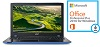 "Acer Aspire E5-523 15.6"" AMD A6 8GB RAM Notebook PC with Win10 & with MS Office 2016"