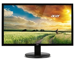 "Acer K222HQL 21.5"" LED Full HD Monitor (Refurbished) LARGE"