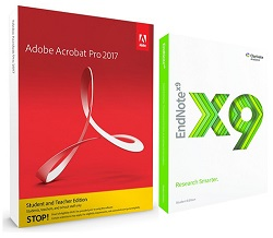 Adobe Acrobat Pro 2017 Research Edition for Students (Windows) LARGE