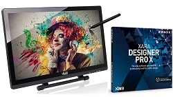 "Adesso CyberTablet T22HD 21.5"" Tablet Monitor Designer Studio for Windows (On Sale!)"