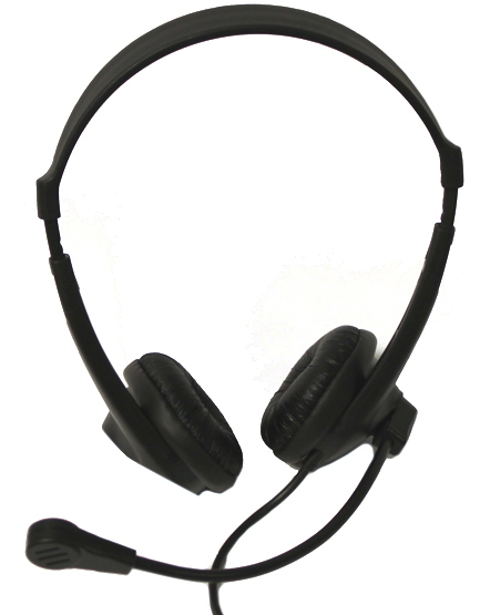Avid AE-18 On-Ear Headset with Mic
