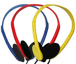 Avid AE-711 On-Ear Headphones (Yellow)