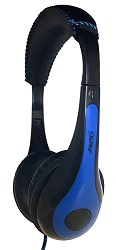 Avid AE-35 On-Ear Headset (Blue) LARGE