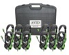Avid AE-36 On-Ear Headset with Mic Classroom Pack (Green)