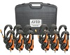 Avid AE-36 On-Ear Headset with Mic (Classroom 12-Pack with Case) (Orange) THUMBNAIL