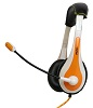 Avid AE-36 On-Ear Headset with Mic (Orange)_THUMBNAIL