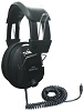 Avid AE-808 Over-Ear Headphones with Volume Control (Black)
