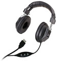 Avid AE-808USB Over-Ear Headphones with Volume Control (Black)_LARGE