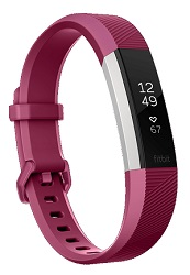 Fitbit Alta HR Smart Band (Fuschia - Large)