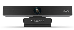 Aluratek LIVE Pro 4K HD Webcam with 5x Digital Zoom (On Sale!) LARGE