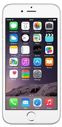 Apple iPhone 6 16GB Silver with FREE Screen Protector (AT&T) (Refurbished)
