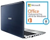 "ASUS X555DA 15.6"" AMD A10 8GB Laptop with SonicMaster Audio & MS Office Pro 2016 (Blue)"