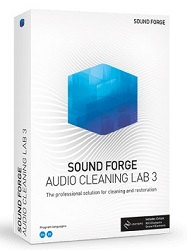 MAGIX Sound Forge Audio Cleaning Lab 3 with iZotope RX 8 Elements (Download) LARGE