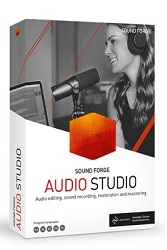 MAGIX Creative Software Sound Forge Audio Studio 15 (Download) LARGE