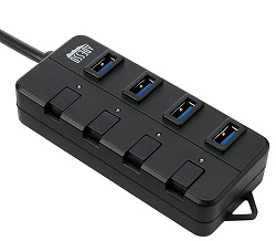 Adesso 4-Port USB 3.0 Hub LARGE