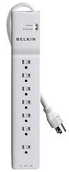 Belkin 2320 Joule 7-Outlet Home/Office Surge Protector LARGE