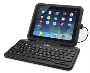 Belkin Wired Keyboard with Stand for Lightning iPad & iPad Air