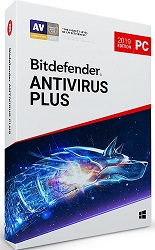Bitdefender AntiVirus Plus 2019 with VPN for Windows 1-Year Subscription (Download) LARGE