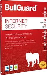 BullGuard Internet Security 2018 1-Year Subscription for 1 Device (Download) LARGE