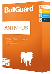 BullGuard AntiVirus 2018 1-Year Subscription for 3 PCs (Download)