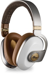 Blue Microphones Satellite Wireless Premium Headphones with FREE Acid Pro Software (White) LARGE