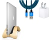 Twelve South BookArc möd for MacBook with FREE Lightning Cable & USB Adapter (Birch)