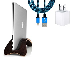 Twelve South BookArc möd for MacBook with FREE Lightning Cable & USB Adapter (Espresso)