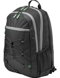 "HP Active Carrying Case Backpack for 15.6"" Notebooks (Black/Mint Green)"