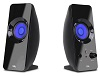 Cyber Acoustics CA-2806BT 2.0 CurveLight Wireless Bluetooth Speaker System with LED Effects