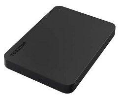 Toshiba Canvio Basics 1TB USB 2.0/3.0 External Hard Drive with FREE! AntiVirus Software LARGE