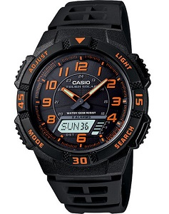 Casio AQS800W-1B2V Fitness Wrist Watch