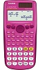 Casio FX-300ESPLUS Solar Scientific Calculator (Pink)