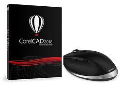 Corel CorelCAD 2018 with 3Dconnexion CADMouse (DVD)